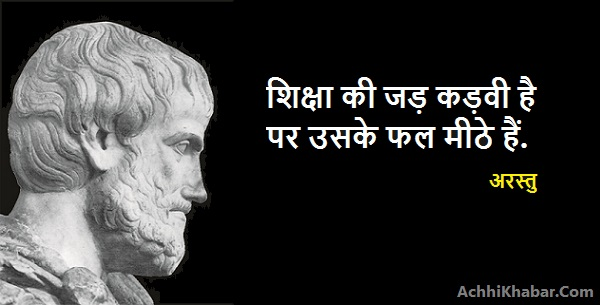 Aristotle Quotes in Hindi