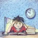Examination Stress in Hindi