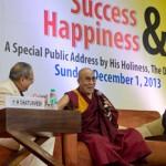 परम पूज्य श्री दलाई लामा का सफलता और ख़ुशी पर भाषण