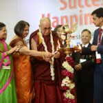 H H The Dalai Lama at BIMTECH organized event