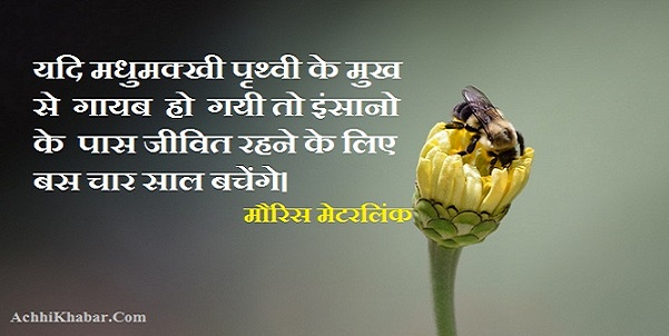 Environemnt Quotes in Hindi