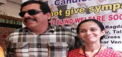 Bhavesh Bhatia with wife