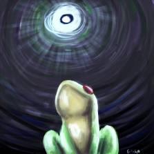 Frog in Well कुएं का मेंढक