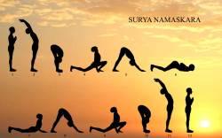 सूर्य नमस्कार surya namaskar
