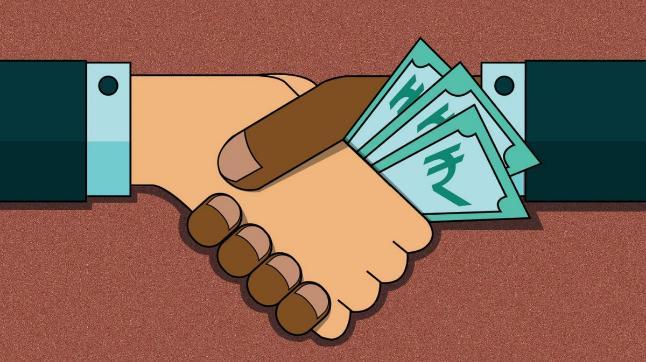 Hindi Essay on Corruption