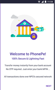 Welcome to PhonePe in Hindi