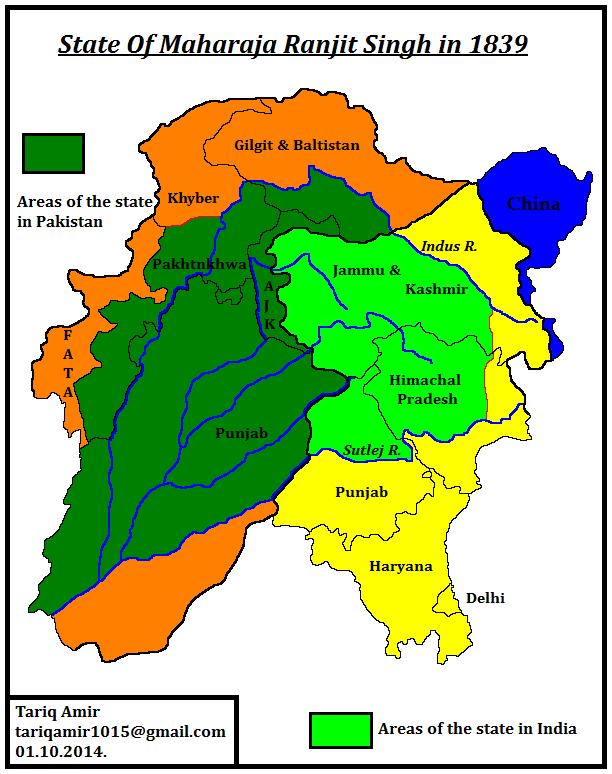 Maharaja Ranjit Singh Life History in Hindi Empire