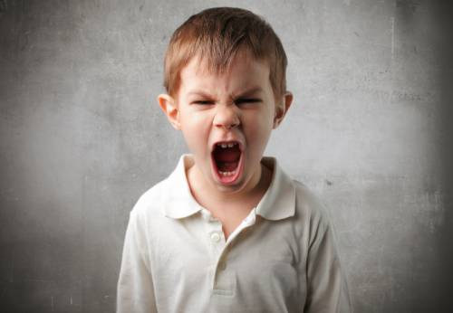 How to deal with angry children in Hindi