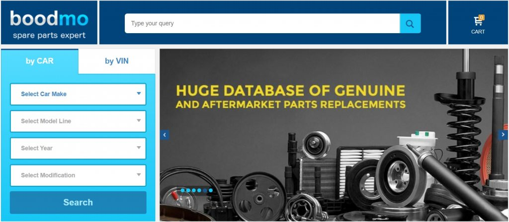 Boodmo Spare Parts Online