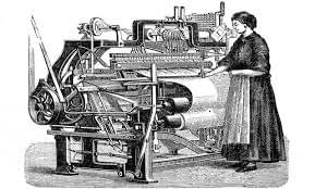 Power Loom Used in Textile Industry