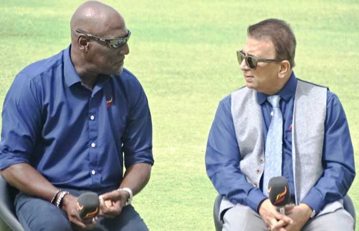 Sachin tendulkar's role model gavaskar and richards