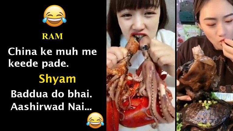 Corona Virus Memes in Hindi