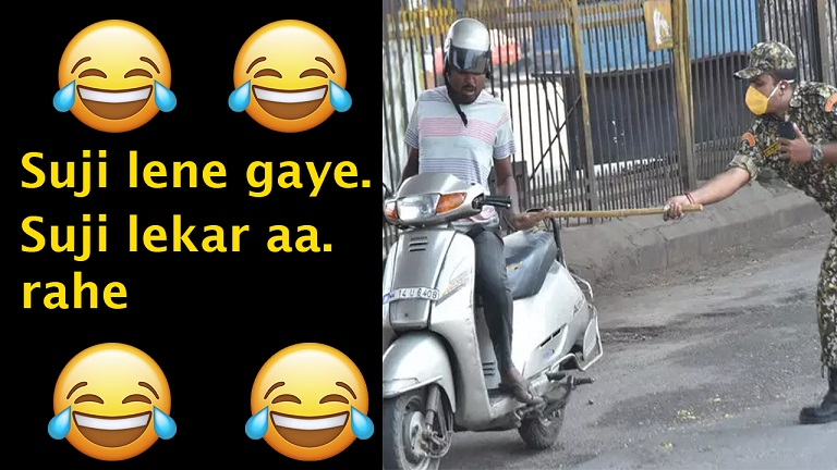 Corona Memes in Hindi