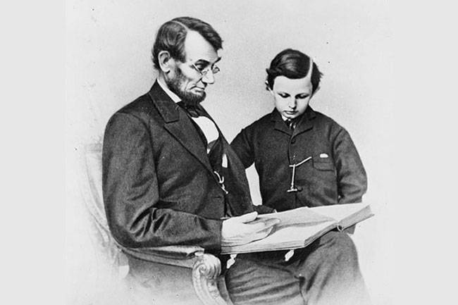 Abraham Lincoln's Letter To His Son's School Headmaster in Hindi